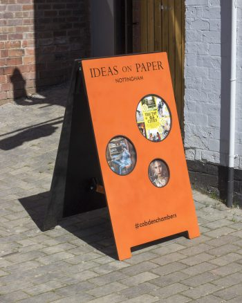 Ideas on Paper A-board